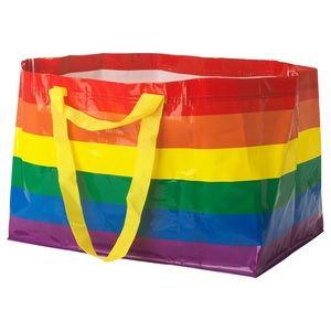 Large pride Rainbow Ikea bag LGBTQ
